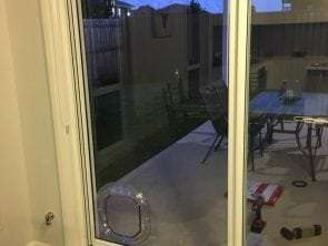 medium dog door for sliding glass door