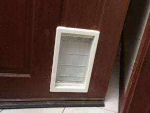 medium pet door for wooden door