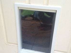 medium dog door for timber doors